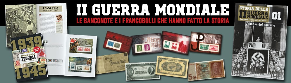 II GUERRA MONDIALE - Banconote e Francobolli