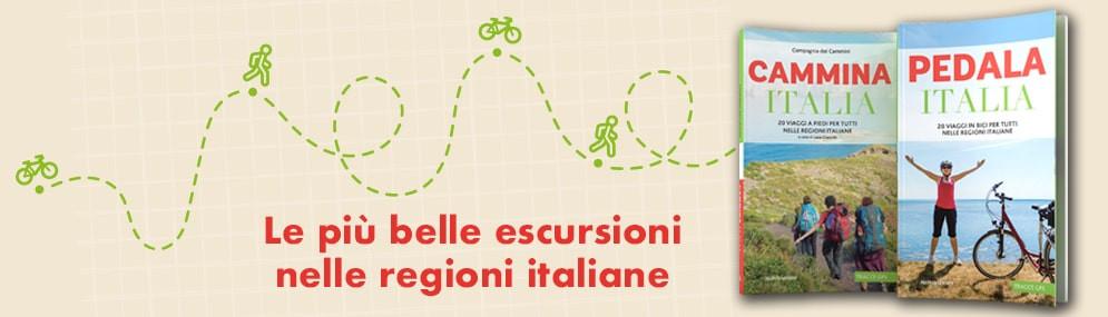 Guide ''Cammina Italia'' e ''Pedala Italia''