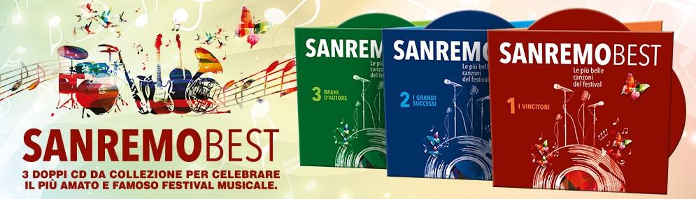 SANREMO BEST - LE PIÙ BELLE CANZONI DEL FESTIVAL