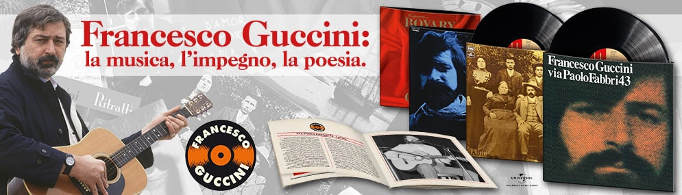 Guccini vinili cd in edicola for Guccini arredamenti