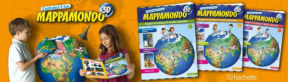 COSTRUISCI IL TUO MAPPAMONDO 3D