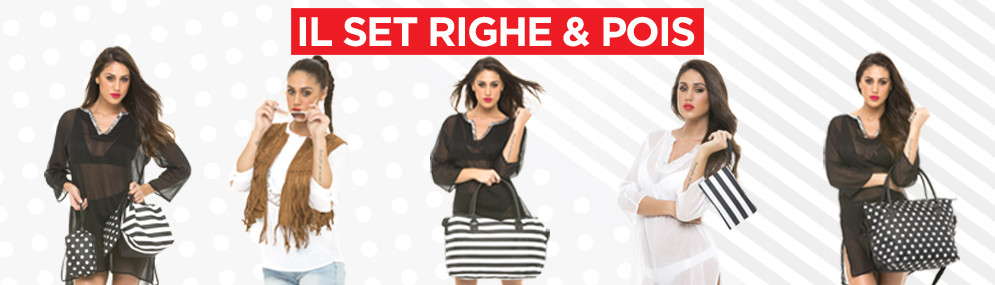 SET RIGHE & POIS - Versione A