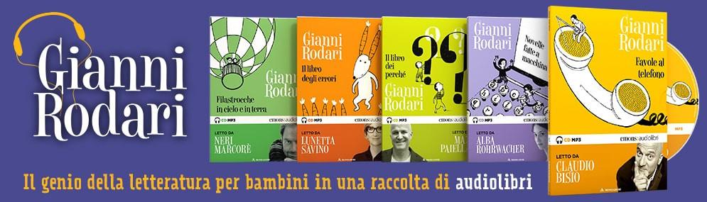 Audiolibri di Gianni Rodari