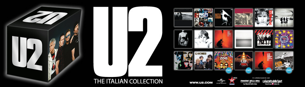 U2 - THE ITALIAN COLLECTION