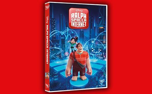 ralph spacca internet dvd  RALPH SPACCA INTERNET dvd in edicola -