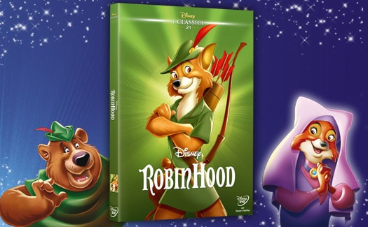 I Grandi Classici Disney 16 Robin Hood Dvd In Edicola