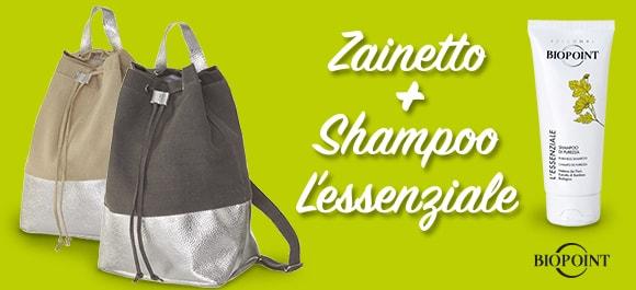 ZAINETTO + SHAMPOO L'ESSENZIALE BIOPOI...